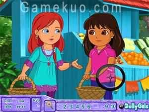 朵拉和朋友找數字(Dora And Friends Spot The Numbers)遊戲圖