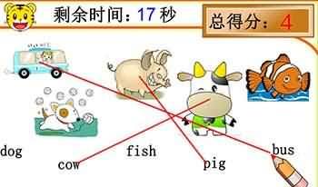 巧虎單詞連連看2-遊戲圖