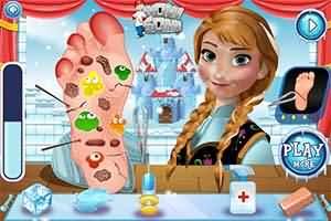 安娜腳傷看醫生(Anna Foot Doctor)遊戲圖