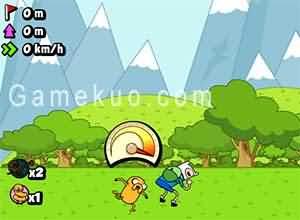 探險活寶空中飛人(Jumping Finn)遊戲圖