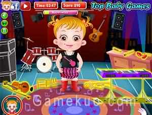 可愛寶貝音樂節(Baby Hazel Musical Melody)遊戲圖