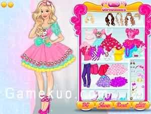 凱蒂貓少女風格裝扮(Hello Kitty Girl Style Dress Up)遊戲圖