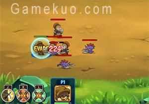 鐵甲騎士2無敵版(Mighty Knight 2)遊戲畫面