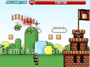 瑪莉歐守護城堡(Mario Protect)遊戲圖