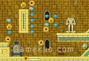 木乃伊找身體加強版(Mummy's Path Level Pack)遊戲圖