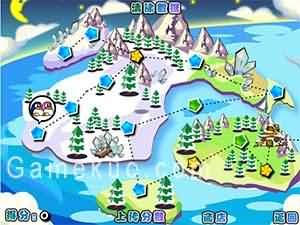 企鵝愛吃魚3新大陸-遊戲圖一