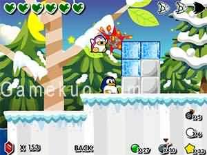 企鵝愛吃魚3新大陸-遊戲圖二
