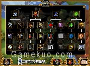 皇家攻防戰2(Royal Offense 2)遊戲升級畫面