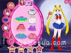美少女戰士水晶裝扮(Sailormoon Crystal Dress Up)遊戲圖