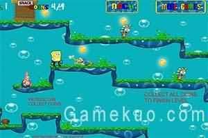 海綿寶寶淘金(Spongebob Gold Rush)遊戲圖