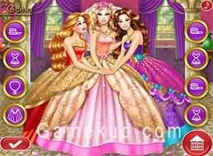 芭比公主的婚禮(Barbie Princess Wedding)遊戲圖