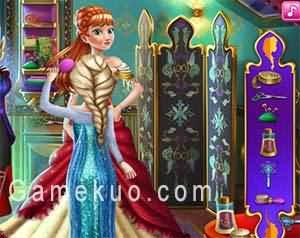 艾莎為安娜做新衣(Elsa Tailor For Anna)遊戲圖