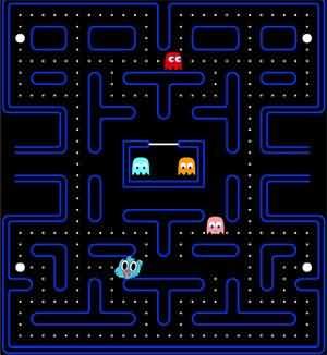 陶阿甘吃豆豆(Pac Man Gumball)遊戲圖