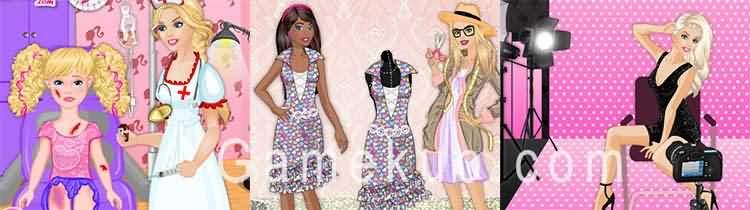 芭比職業選擇(Barbie Career Choice)遊戲圖