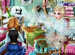 冰雪姐妹服裝製作比賽(Frozen Design Rivals)遊戲圖