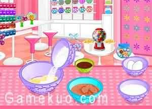 花紋冰淇淋蛋糕(Ice Cream Cake Pops)遊戲圖