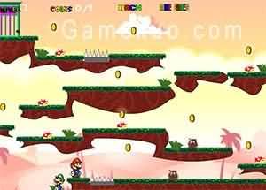 瑪莉歐淘金3(Mario Gold Rush 3)遊戲圖