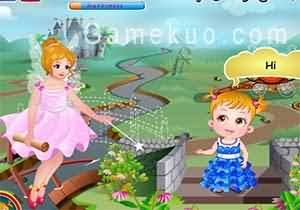 可愛寶貝仙境之旅(Baby Hazel Fairyland)遊戲圖二