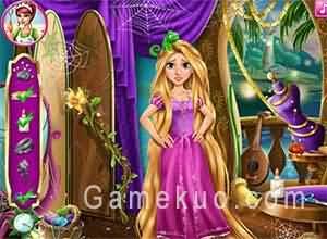 長髮公主魔法裁縫(Rapunzel Magic Tailor)遊戲圖一