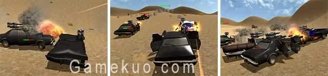 3D沙漠死亡飛車(Vigilante 2015 Beta)遊戲圖