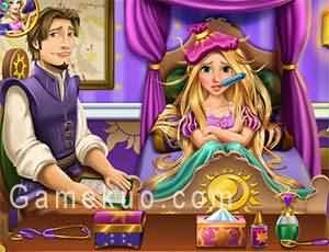 長髮公主重感冒(Rapunzel Flu Doctor)遊戲圖