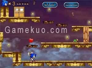 音速小子跳躍大冒險(Jump Sonic Jump)遊戲圖