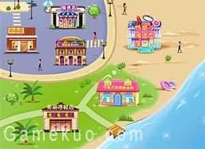 妮娜的夏日海灘旅行-遊戲圖