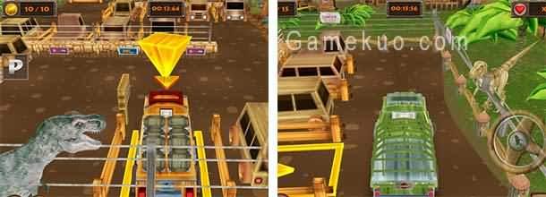 侏羅紀公園停車(Mega Jurassic Parking)遊戲圖