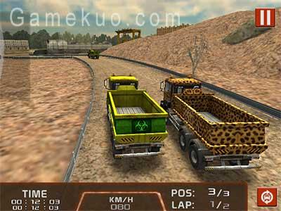 3D運礦卡車賽車(Dump Truck 3d Racing)遊戲圖