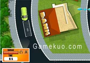 汽車運輸拖車(Car Carrier Trailer Games)遊戲圖一