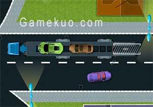 汽車運輸拖車(Car Carrier Trailer Games)遊戲圖二