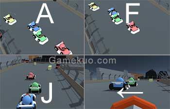 3D雙人趣味賽車-遊戲圖