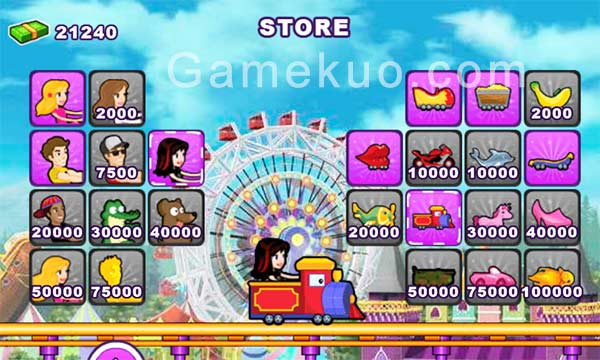 瘋狂過山車4(Thrill Rush 4 Games)