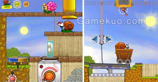蝸牛冒險記手機版(Snail Bob)-遊戲圖
