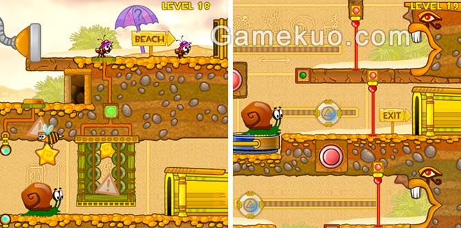 蝸牛冒險記3手機版(Snail Bob 3)-遊戲圖