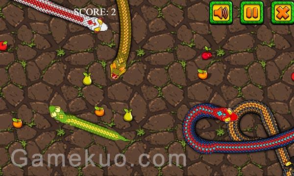 進擊的貪吃蛇(Snake Attack Games)遊戲圖