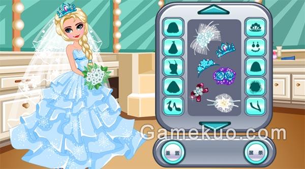 冰雪女王婚禮裝遊戲圖