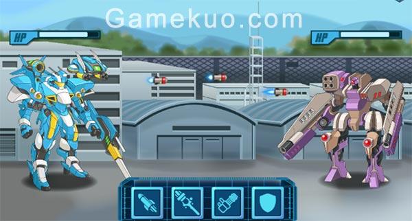超級機器人戰鬥(Super Robo Fighter)遊戲圖