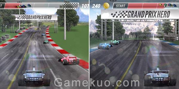 F1賽車英雄(Grand Prix Hero)遊戲圖