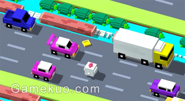 穿越馬路 Road Crossing Games