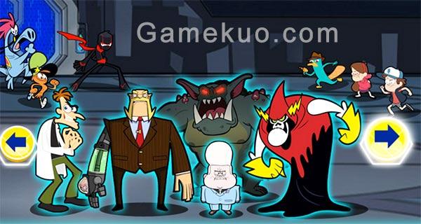 卡通英雄聯盟(Villains Unite)遊戲圖