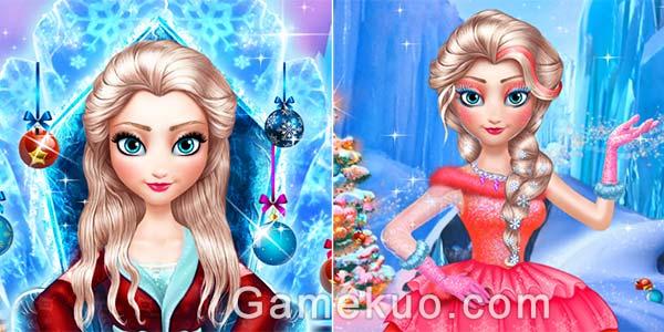 冰雪女王新年裝扮(Ice Queen New Year Makeover)遊戲圖