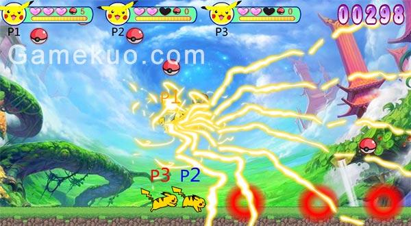 皮卡丘沖啊無敵版(Pikachu)遊戲圖