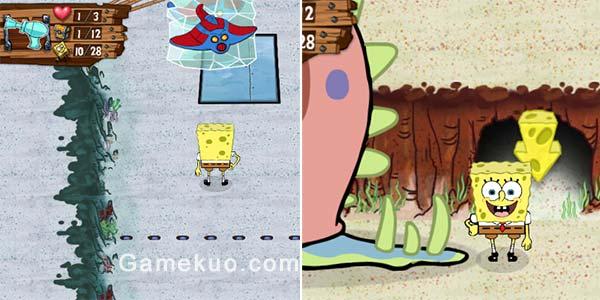 海綿寶寶時間旅行(Spongebob Mission Through Time)遊戲圖二