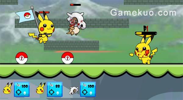 神奇寶貝大亂鬥(Pokemon Battle Arena)遊戲圖