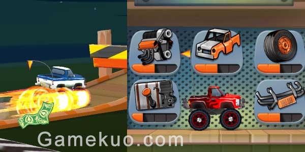 無盡的賽車狂奔(Endless Truck)遊戲圖