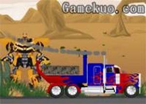 變形金剛大卡車