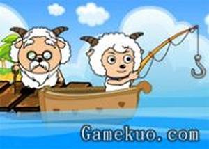 喜羊羊瘋狂釣魚