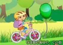 朵拉騎自行車