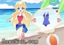 可愛蘿莉的泳裝